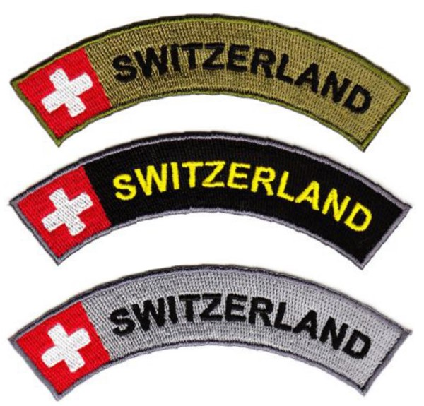 Picture of Upper arm badge SWITZERLAND embroidered