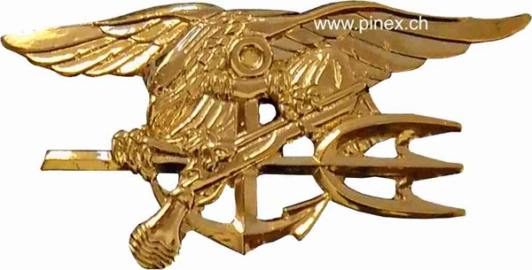 Picture of U.S. Navy Seals  large Pin gold