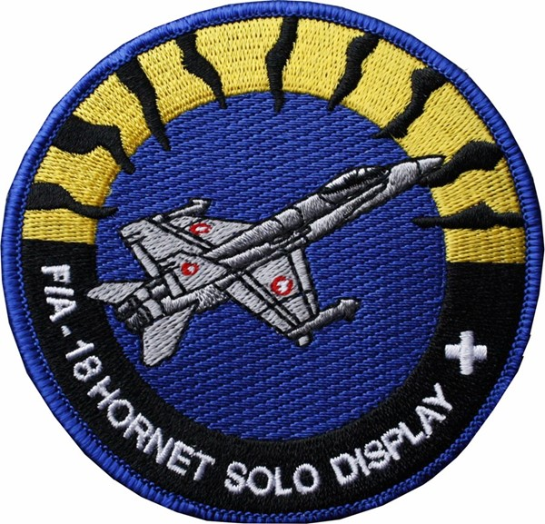 Picture of F/A-18 Hornet Swiss Air Force solo Display Patch