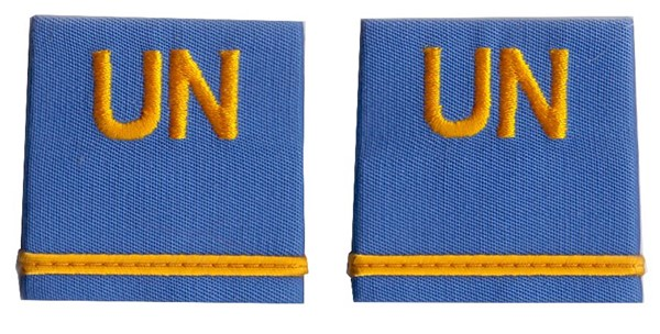 Picture of United Nations Second Lieutenant Shoulder