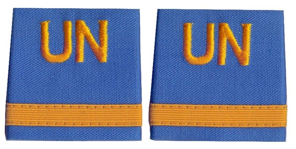 Photo de UN Insigne de grade Major de troupes Nations Unies