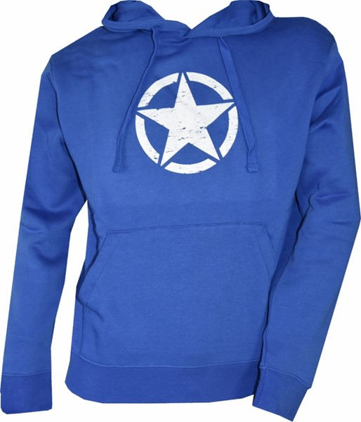 Picture of Army Star Hoodie, blau Männer