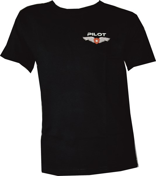 Picture of Pilot Wing Kinder T-Shirt schwarz