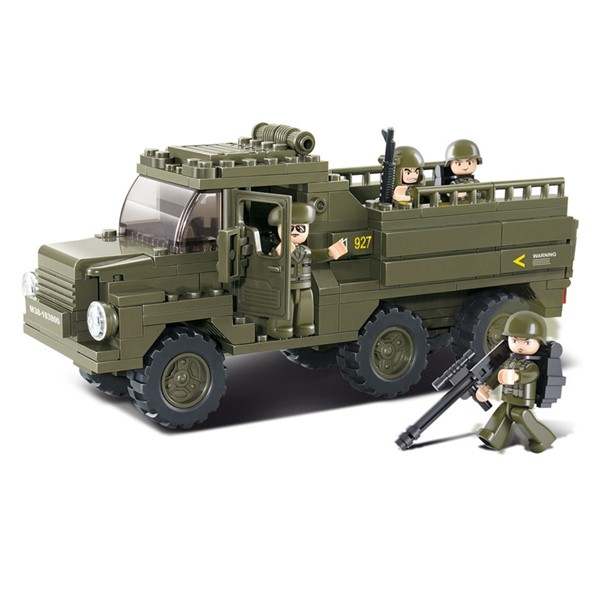 Picture of Sluban Army Truppentransporter Truck