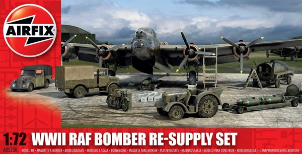 Picture of RAF Bomber Re-Supply Set Modellbausatz 1:72 Airfix