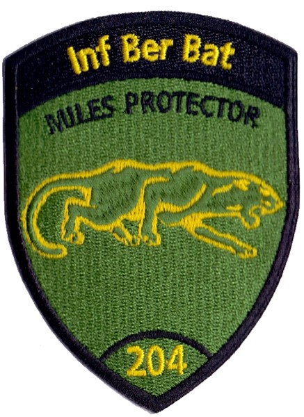 Picture of Inf Ber Bat 204 ohne Klett, Miles protector Badge