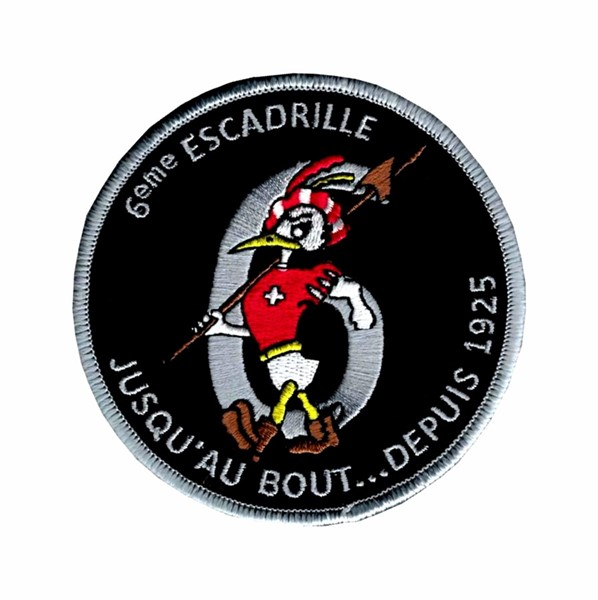 Picture of Squadron 6 Patch Swiss Air Force, limited edition