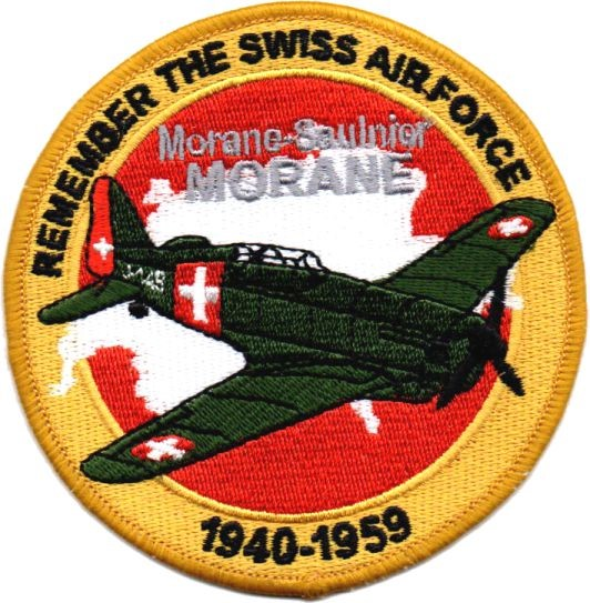 Picture of Swiss Air Force Morane Saulnier Patch