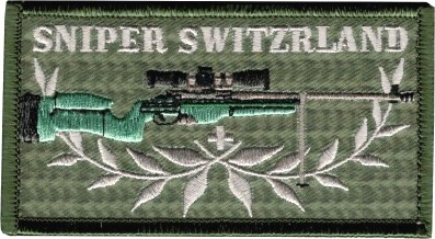 Picture of Sniper Switzerland Insignia Patch