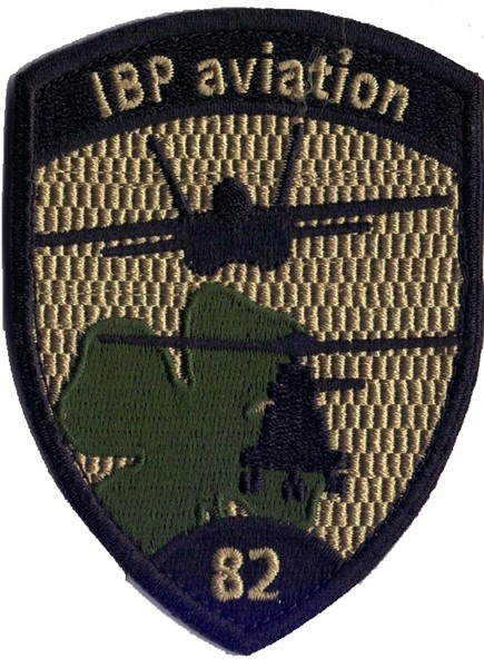 Photo de IBP Aviation 81 noir Badge avec Velcro, insigne brodé forces aériennes
