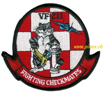 Picture of VF-211 Aufnäher Fighting Checkmates