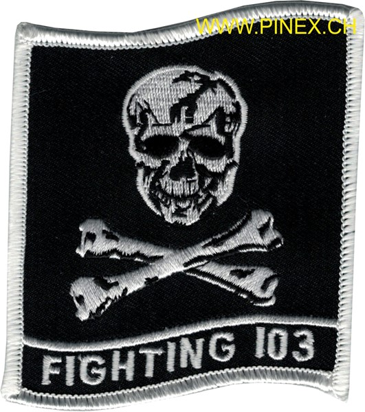 Picture of VF-103 Fighting 103 Jolly Rogers Flag Patch
