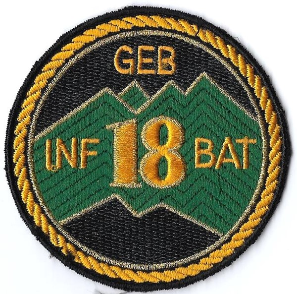 Picture of Geb Inf Bat 18 gelb