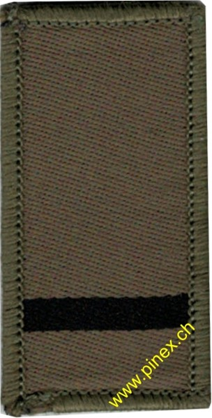 Picture of Secand Lieutenant Swiss Army Rank Insignia