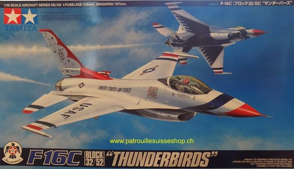 Picture of Tamiya F16 Thunderbirds Plastikbausatz