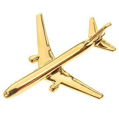 Picture of Boeing 767-300 Flugzeug Pin
