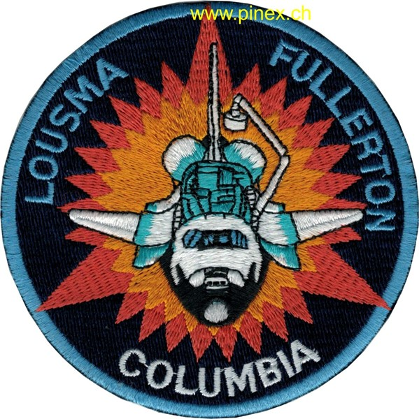 Picture of STS 3 Columbia Abzeichen Lousma Fullerton
