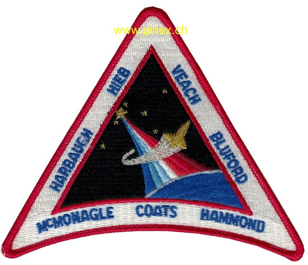 Picture of STS 39 Discovery Space Shuttle Badge