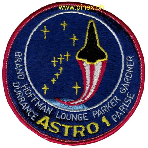 Picture of STS 35  Space Columbia NASA Patch