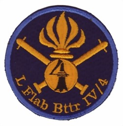 Photo de Leichte Flab Batterie IV/4 blau Badge Luftwaffe