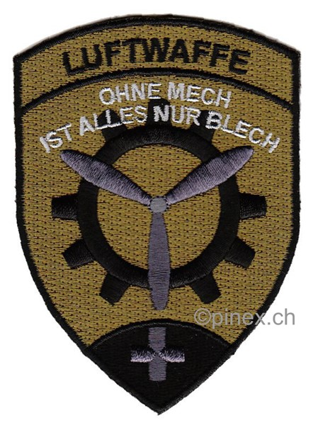 Photo de Emblem Schweizer Luftwaffe Maintenance tarn