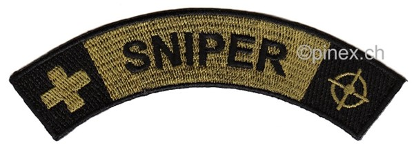 Picture of Sniper Switzerland Upper Arm Insignia