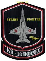 Picture of Swiss Air Force F18 Hornet Patches