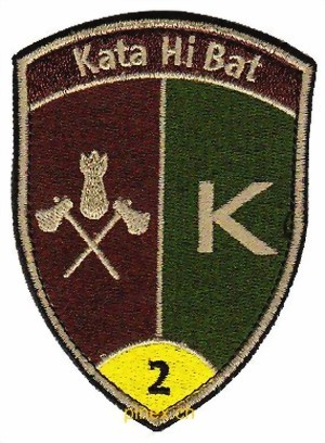 Photo de Kata Hi Bat Katastrophen Hilfe Bataillon 2 gelb mit Klett Badge