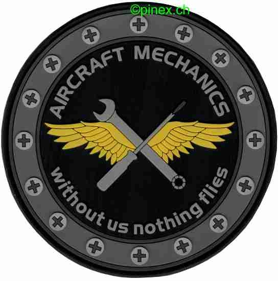 Photo de Aircraft Mechanics PVC Rubber Patch