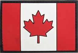 Photo de Canada Flagge PVC Rubber Patch