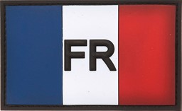 Photo de Frankreich Flagge PVC Rubber Patch