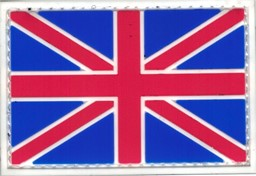 Photo de Union Jack Flagge PVC Rubber Patch