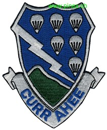 "Photo de 506th Airborne Regiment Abzeichen ""Currahee"""
