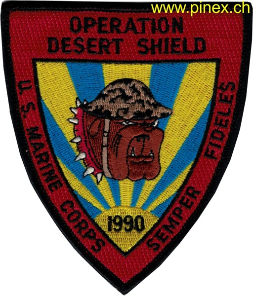 Bild von US Marine Corps Operation Desert Shield 1990 Semper Fidelis