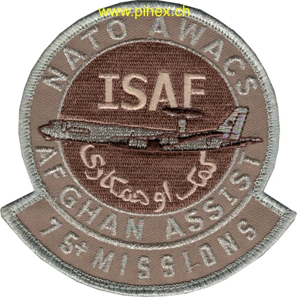 Photo de Nato Awacs Afghanistan Assist 75+ Missions ISAF