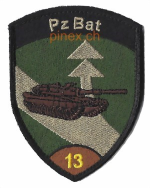 Picture of Pz Bat 13 Panzer Bataillon 13 braun mit Klett