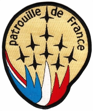 Photo de Patrouille de France Badge Patch  118mm