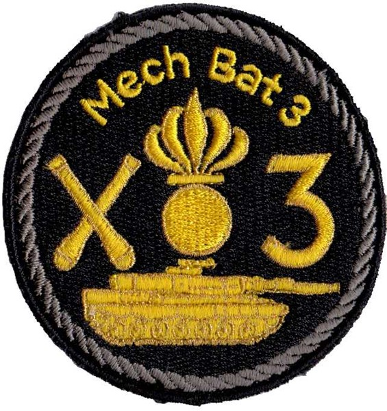 Picture of Mech Bat 3 grau Panzerbadge