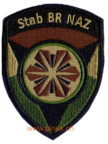 Photo de Stab BR NAZ Badge mit Klett Armee 21