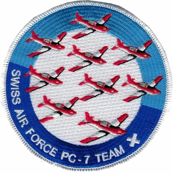 Photo de PC-7 Team Badge force aérienne suisse