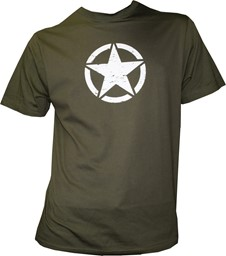 Picture of US Army Star T-Shirt grün
