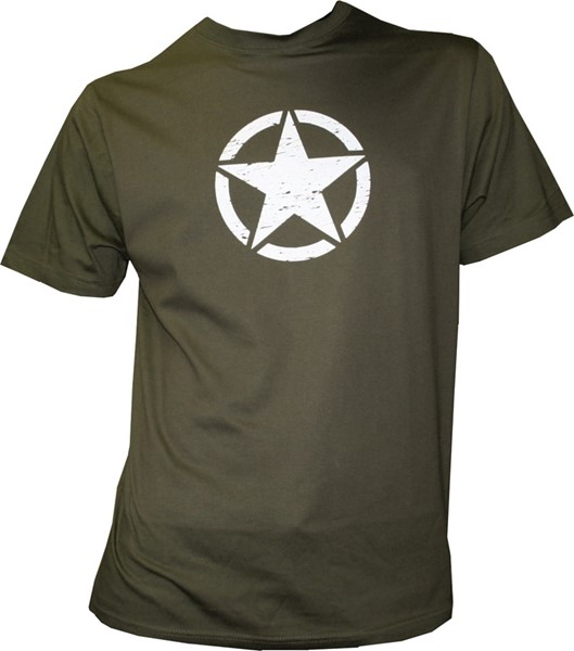 Photo de US Army Star T-Shirt grün