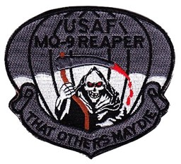 "Bild von MQ-9 Reaper Drohne USAF ""that others may die"""