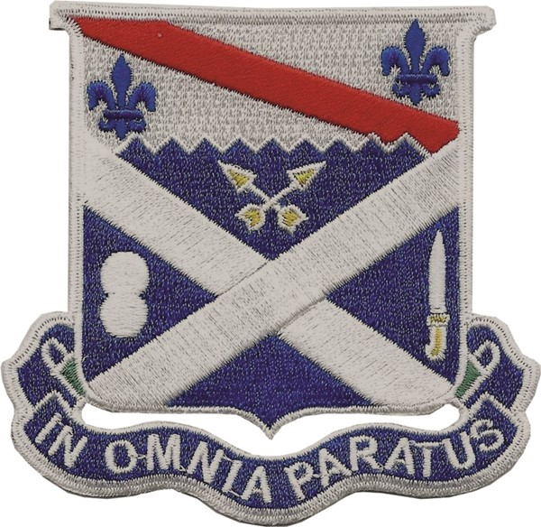"Bild von 18th infanterie regiment ""in omnia paratus"""