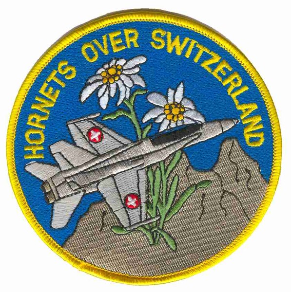Picture of F/A-18 Hornet, Hornets over Switzerland