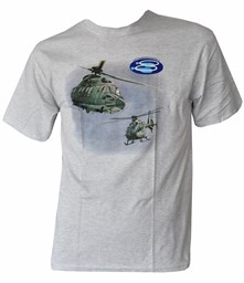 Picture of Lufttransport Staffel 8 Schweizer Luftwaffe T-Shirts