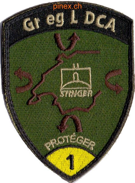 Photo de Emblem Soldat d'engins guidés STINGER Forces aériennes suisses