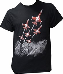Picture of Patrouille Suisse T-Shirt Mountain