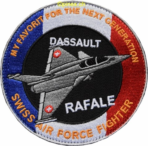 Photo de Dassault Rafale, for the next generation swiss air force fighter