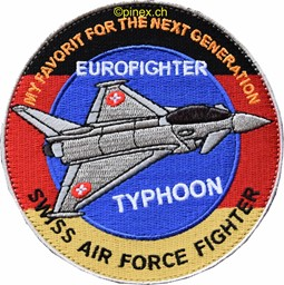 Bild von Eurofighter Typhoon, for the next generation swiss air force fighter